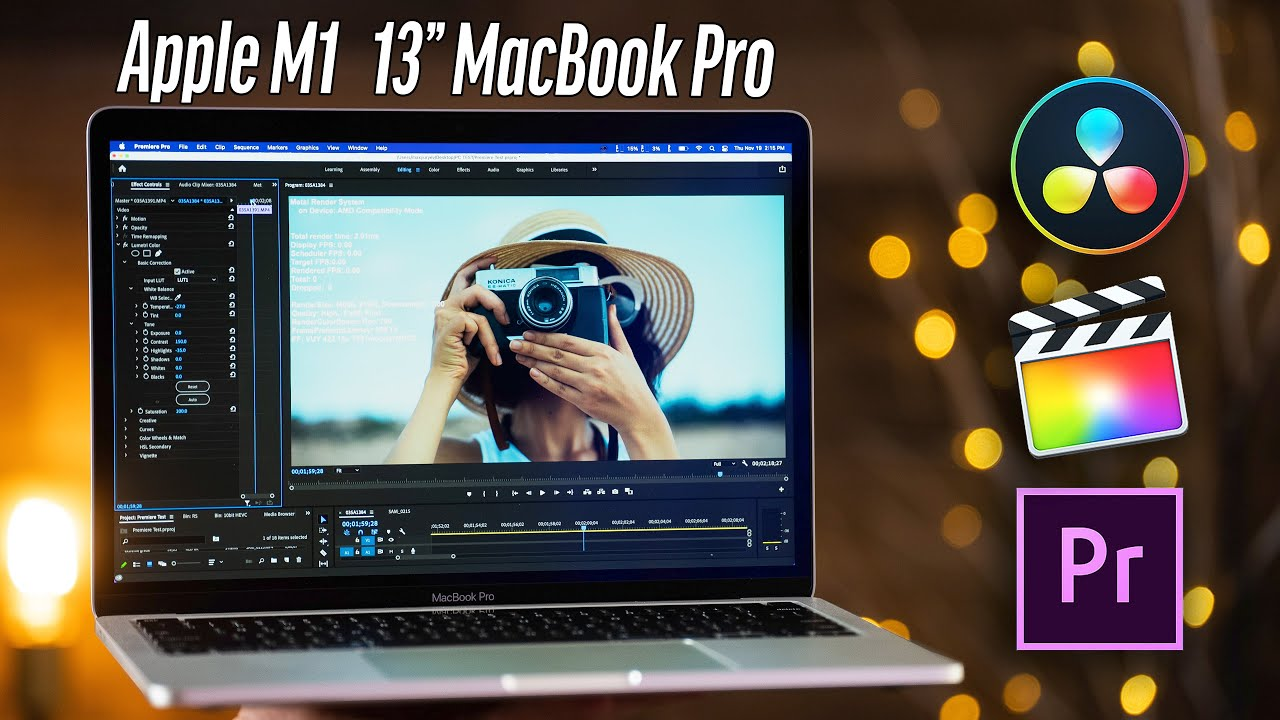 """Is the M1 13"""" MacBook Pro Good for TOUGH Video Editing ..."""