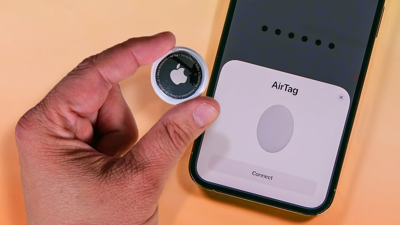 Apple AirTags: Hands-on with the tiny tracker - YouTube
