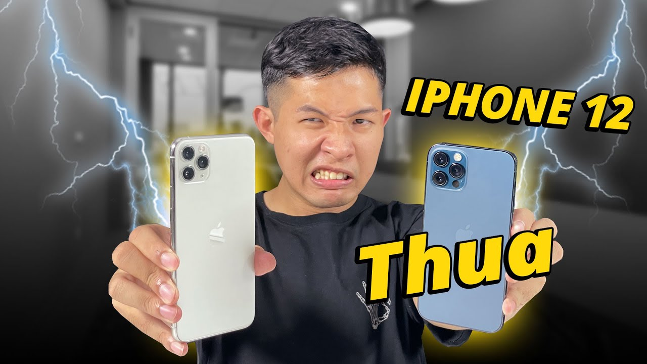 SHOCK!!! iPHONE 12 PRO THUA iPHONE 11 PRO MAX!?? - SPEEDTEST LUÔN CHO NÓNG!!!