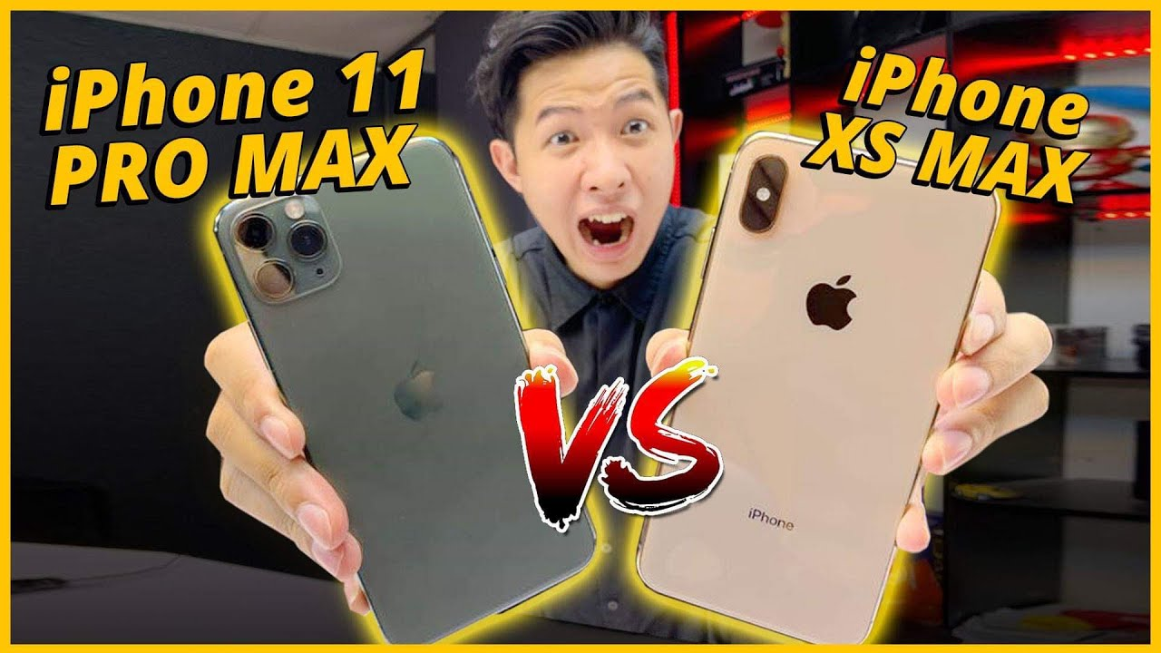 SPEEDTEST iPHONE 11 PRO MAX VS iPHONE XS MAX: A12 MẠNH NGANG A13???