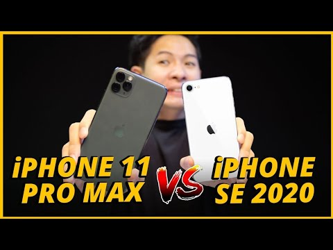 SPEEDTEST iPHONE SE 2 vs iPHONE 11 PRO MAX: SỰ THẬT CON CHIP A13 CỦA iPHONE SE…
