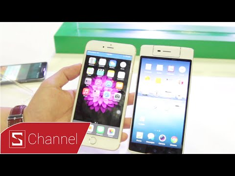 Schannel - OPPO N3 vs iPhone 6 Plus : So sánh nhanh