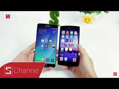 Schannel - So sánh hiệu năng Galaxy Note 5 vs Bphone: bất ngờ xảy ra?
