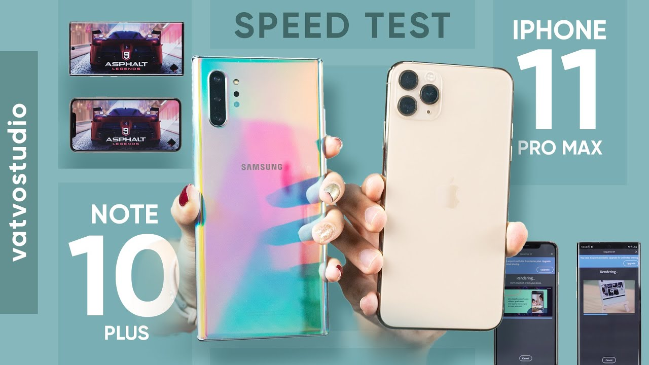 So sánh hiệu năng iPhone 11 Pro Max và Galaxy Note 10+: Apple A13 vs Exynos 9825