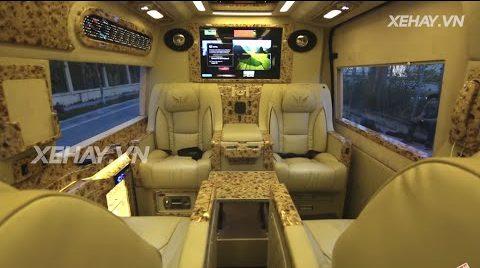 [XEHAY.VN] Ford Transit DCar - sang trọng đẳng cấp