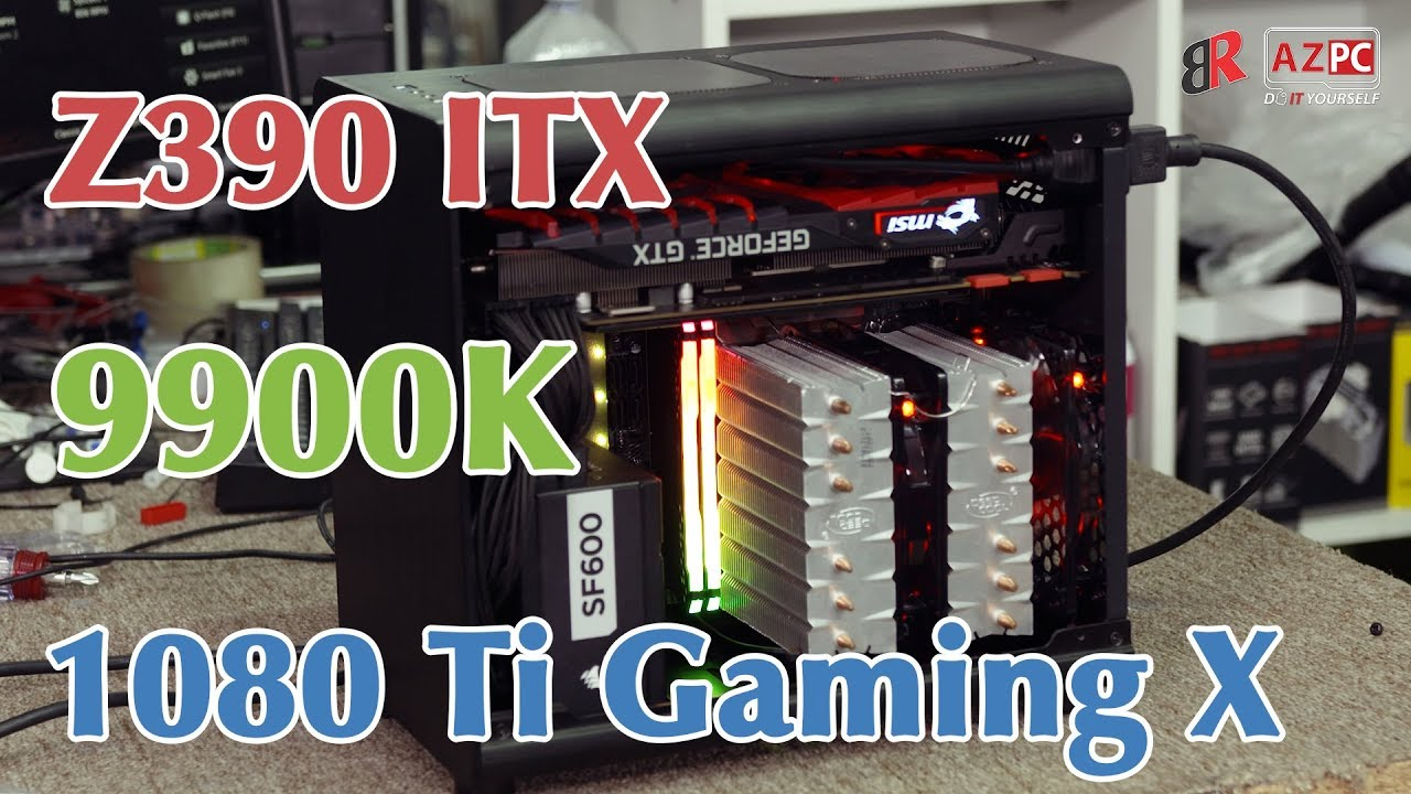 Build a tiny PC with 9900K and GTX 1080 Ti