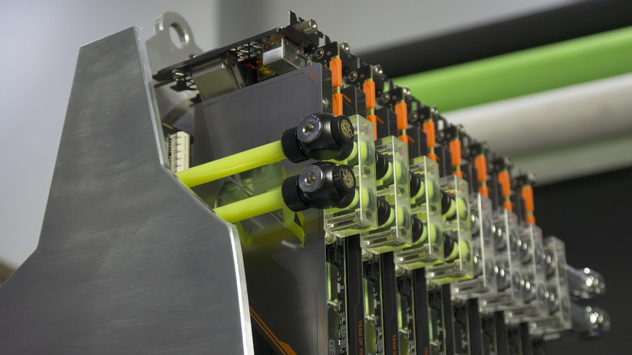 Full detail   Uncut: How to Build a HPC 7 GPU with custom chassis ( don't miss out!)
