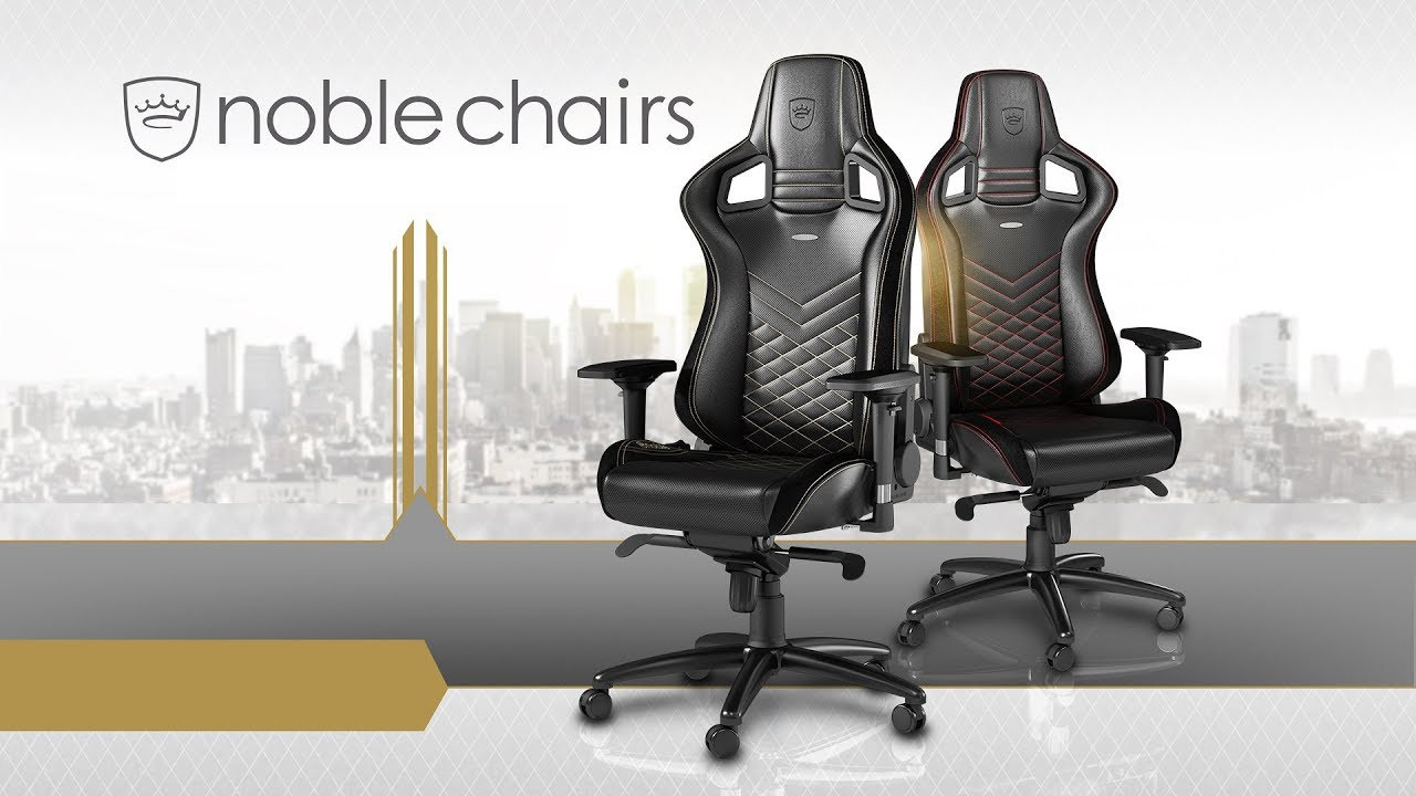 Noblechairs - Hi-end gaming chair Noblechairs Epic | AZPC TV