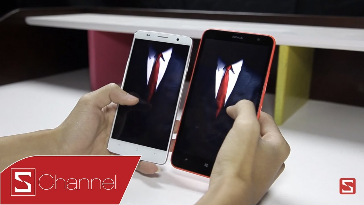 Schannel - So sánh Lumia 1320 vs OPPO Find Way S - CellphoneS