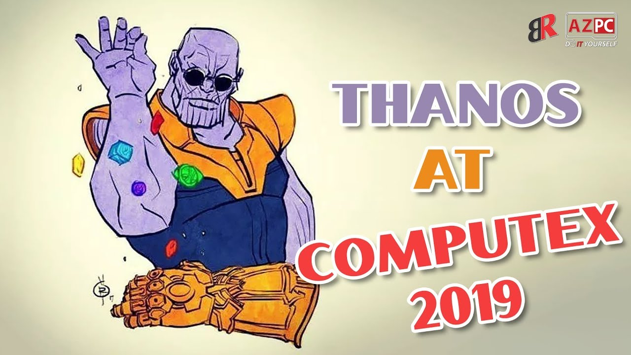 Uplifting with Thanos at G-skill booth | Computex 2019 Taipe (volume down plz)