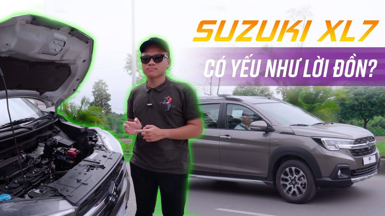 Lái thử Suzuki XL7 589 triệu : Máy nhỏ có yếu như lời đồn?