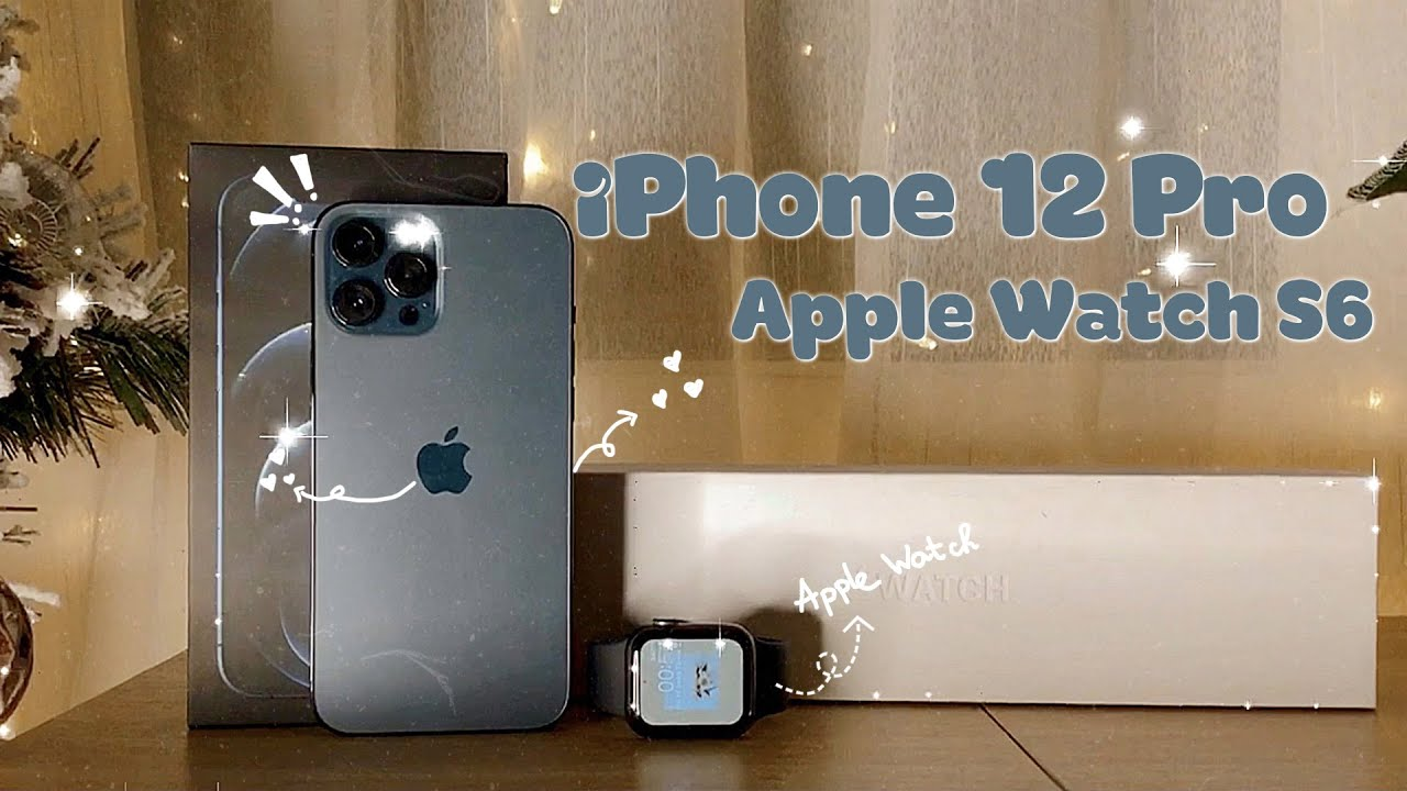 Unboxing iPHONE 12 PRO MAX & APPLE WATCH SERIES 6