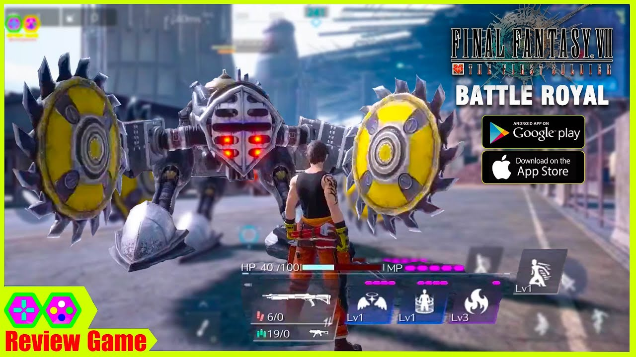 FINAL FANTASY 7: THE FIRST SOLDIER - Battle Royal Gameplay Full HD 2021 Android/IOS