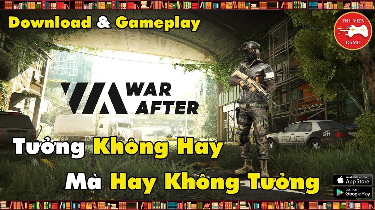 NEW GAME #245 || War After: PvP action shooter 2021 - Game FPS QUÁ NGON || Thư Viện Game