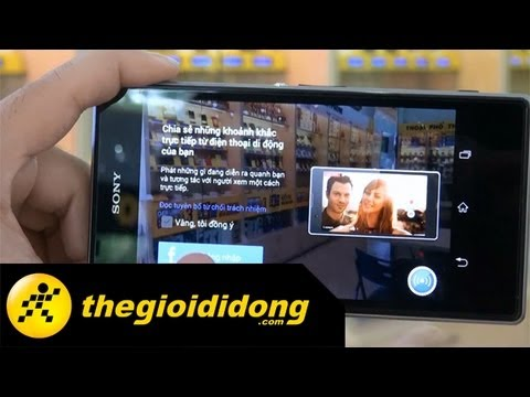 Ứng dụng Camera Sony Xperia Z1 C6902 | www.thegioididong.com
