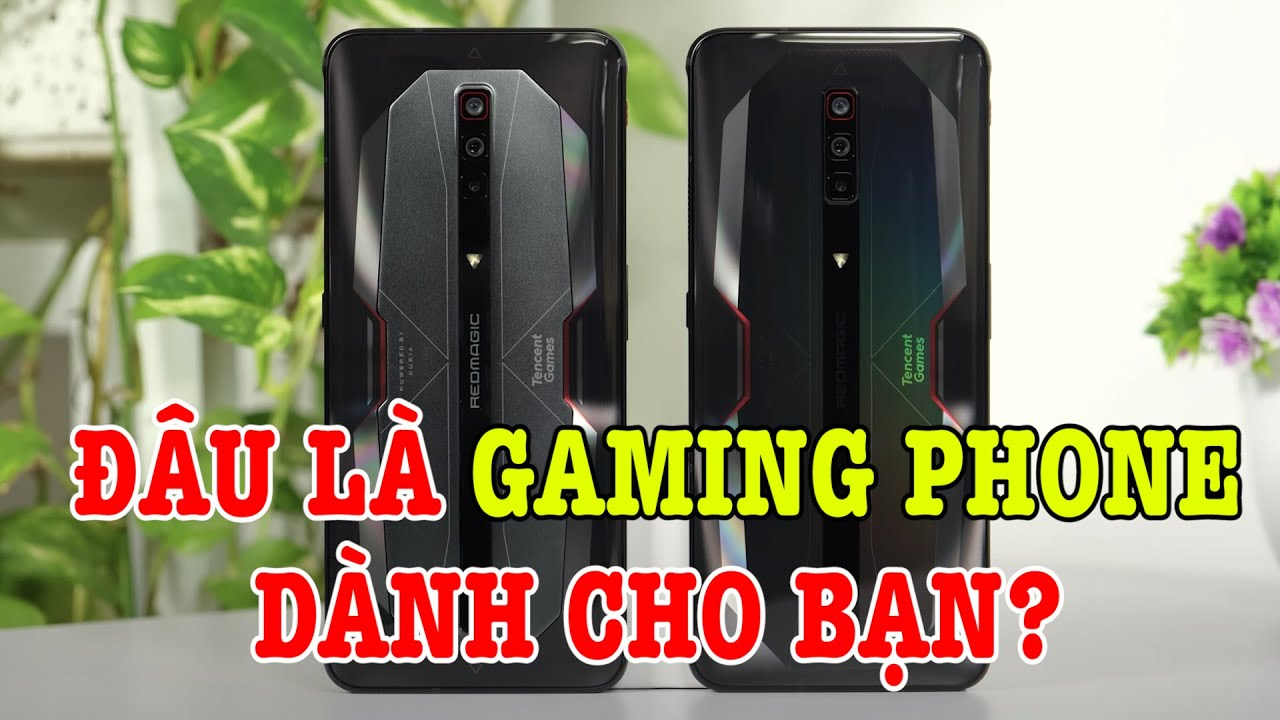 Red Magic 6 vs Red Magic 6 Pro : đâu là gaming phone dành cho bạn?
