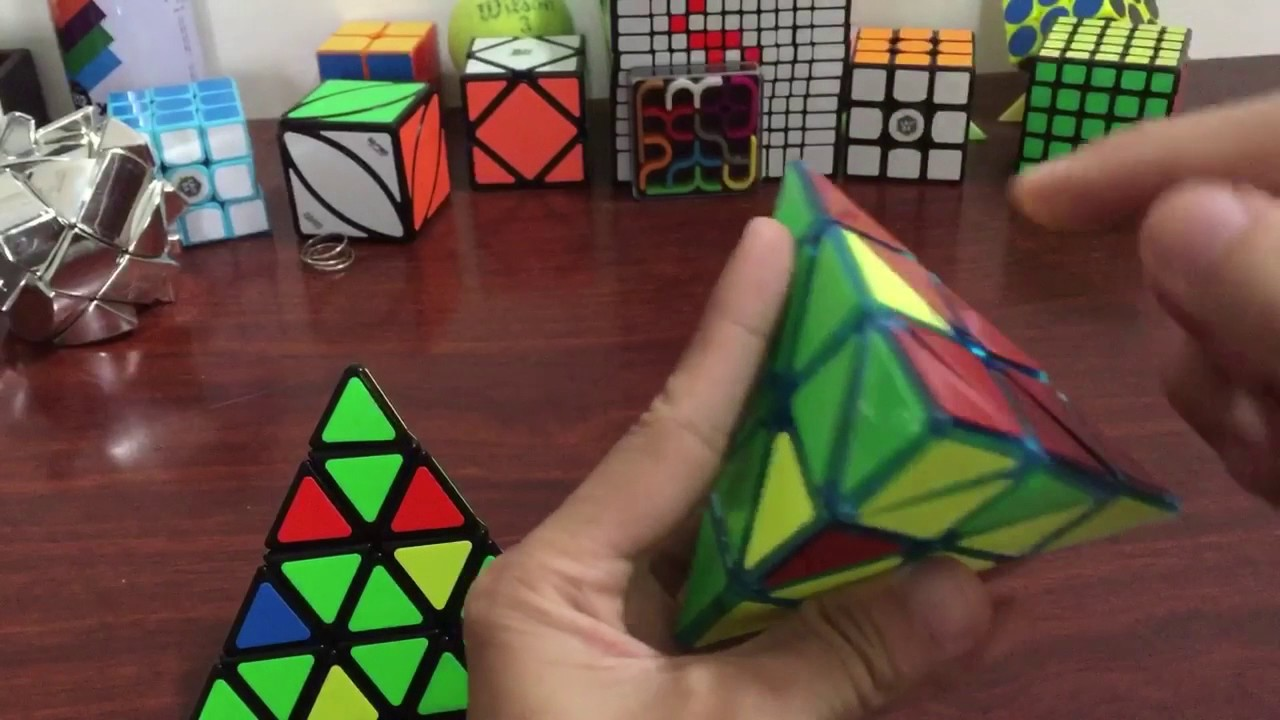 Tutorial And Guide : cách giải Master Pyraminx