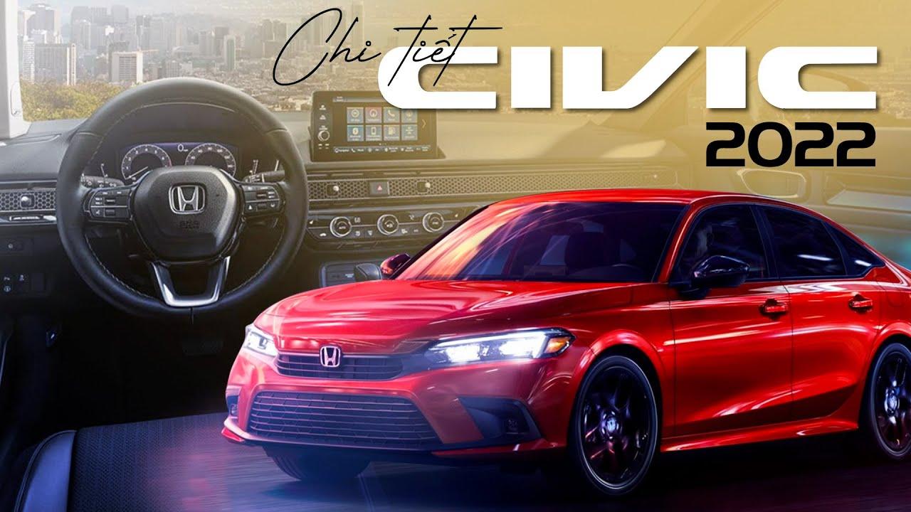 Chi tiết Honda Civic 2022: Không còn thể thao! Còn gì đấu Mazda3, Cerato?