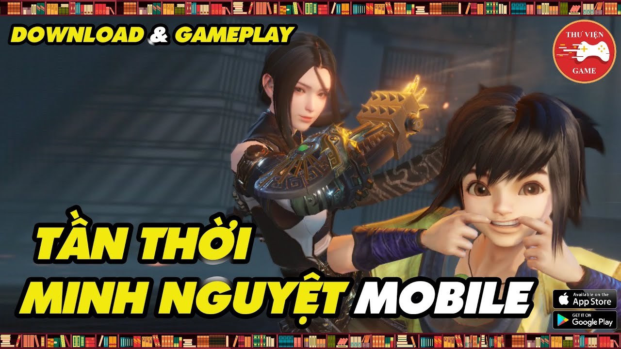 NEW GAME    The Legend of Qin Mobile (Tần Thời Minh Nguyệt Mobile) - REVIEW    Thư Viện Game